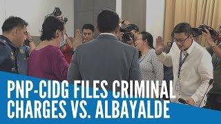 PNP-CIDG files criminal charges vs. Albayalde