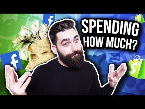 How Much To Test Products With Facebook Ads For Shopify Dropshipping thumbnail