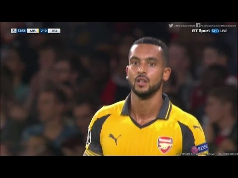 Theo Walcott vs FC Basel | Champions League 28/9/2016