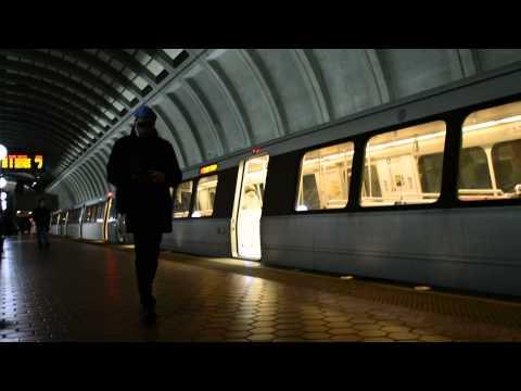 WMATA Washington Metro Red Line at Friendship Heights
