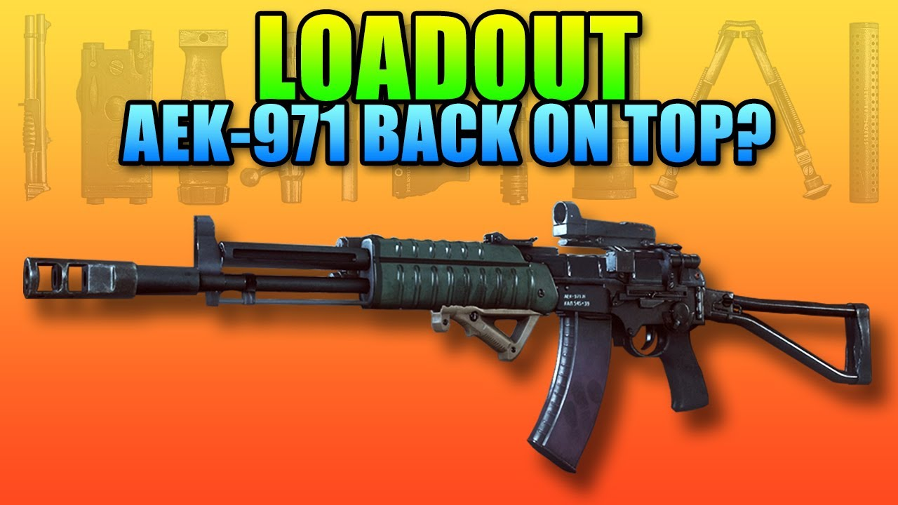 Loadout: AEK-971 - Muzzle Break & Angled Grip (Battlefield 4 Launch  Gameplay/Commentary) - YouTube