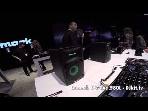 First look Numark N-Wave 580l Namm 2016 - DJKit.tv