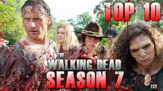 The Walking Dead's Top 10 Greatest Episodes as of Season 7!