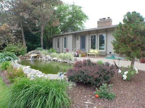 10189 Baron Dimondale Michigan. Waterfront. Houses For Sale In Lansing MI. Homes Real Estate.