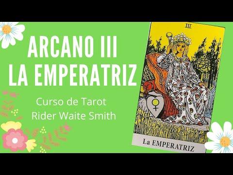 ARCANO III LA EMPERATRIZ - Curso De Tarot Online Gratuito Rider Waite Smith