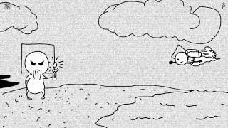 МультяХАтв.Детский омлет.#001 Сотворение неба и земли.Мульт-прикол.(как бы библия,ветхий завет)