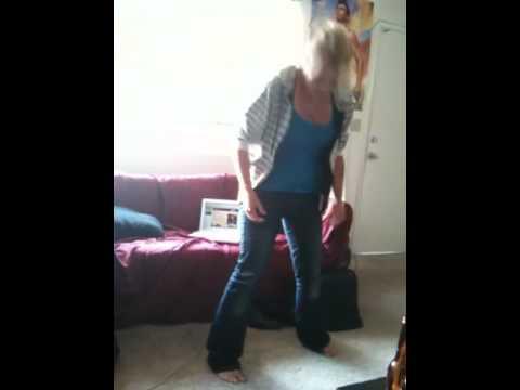 Lap dance peeing