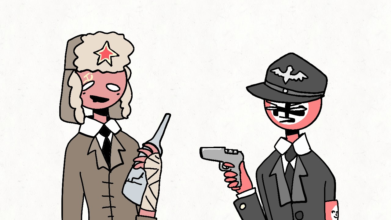 Countryhumans in nuttshell - Warning nazi and soviet - YouTube