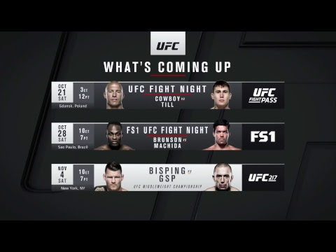 UFC 216: Ferguson vs Lee