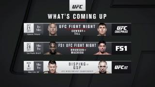 UFC 216: Ferguson vs Lee