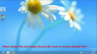 How to Recover Deleted Photos from Windows 8 Computer