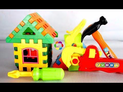 لعبة عدة النجار الجديدة للاطفال واجمل العاب الادوات والعدد اليدوية للاولاد والبنات والعاب تعليمية