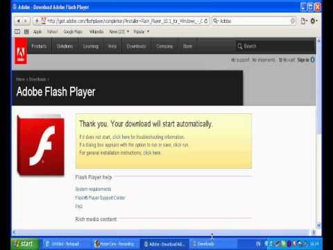 flash player safari download