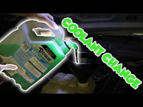 Ford fg service - changing coolant mp3