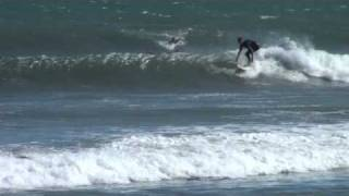 Surfers Love Malibu Beach Waves