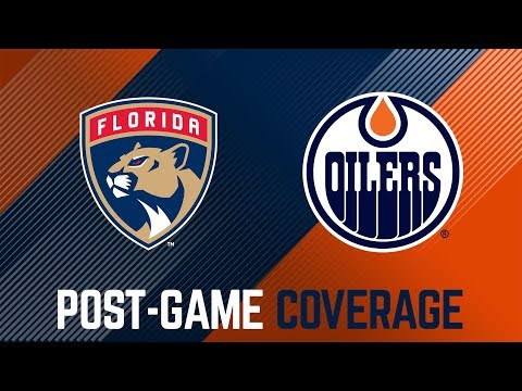 ARCHIVE | Oilers Post-Game Interviews at Florida