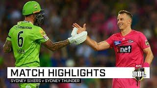 Sydney Smash ends in dramatic Super Over | KFC BBL|09