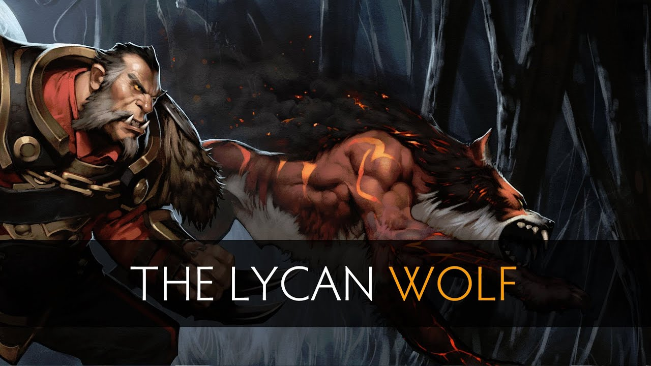 dota 2 the lycan wolf youtube