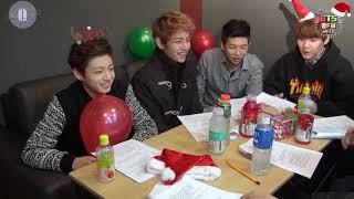 [Türkçe Altyazılı] [BTS Kkul (Honey) FM 06.13] The very happy Christmas with BTS!