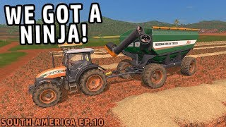 NEW HARVESTER AND AUGER WAGON | Farming
