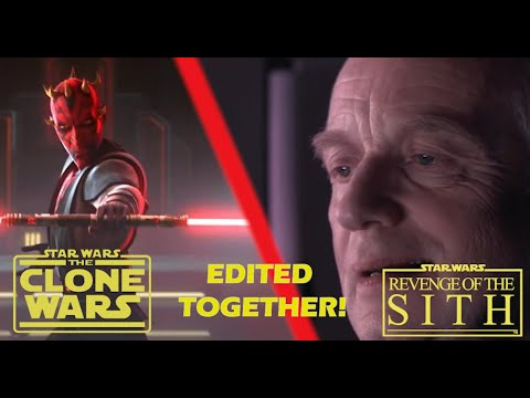 The Tragedy Of The Phantom Apprentice Clone Wars Revenge Of The Sith Edited Together Youtube