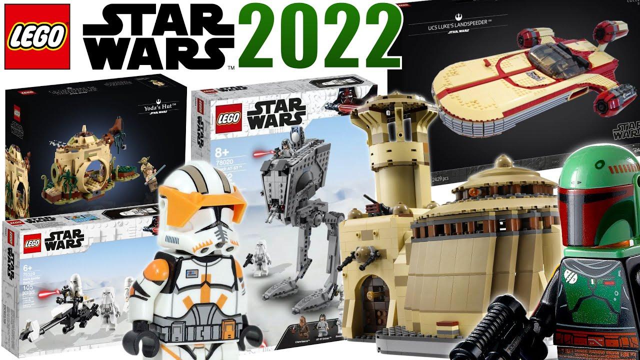 Download ALL LEGO Star Wars 2022 Sets SO FAR... (BOBA FETT, Clone Packs, Yoda's Hut, Death Star, & MORE!)