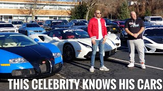 DJ Envy is About That Life in a $300k Ferrari : PCBlast Car Rally