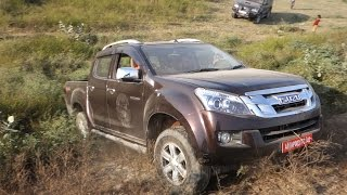 Isuzu V Cross: Beached and Recovery, Fortuner does it nice and easy.