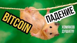 📉Причины падения Биткоина! Прогноз BTC и торговля bitcoin