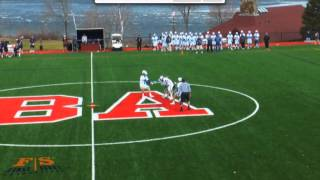 Ian Foster Spring lacrosse highlights 2015, Brewster Academy