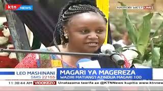 Waziri Matiang\'i azindua magari 100 gereza la Nairobi West