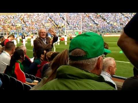 Dublin v Mayo 2015 Drawn Semi (Team Entrances)