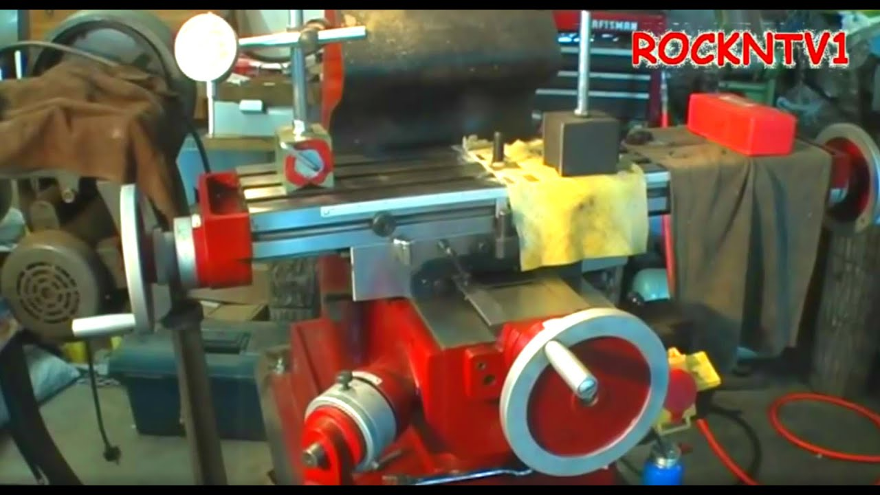 6x26 milling machine
