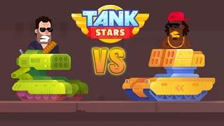 Tank Stars Gameplay BLAZER UNLOCKED| IOS iPad Pro Gaming
