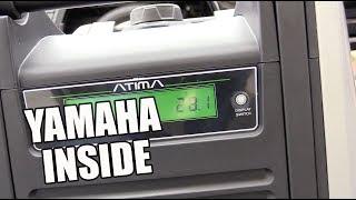 Atima Inverter Generator 2000W Quiet Portable 4-Stroke Petrol with Yamaha Engine AY2000i