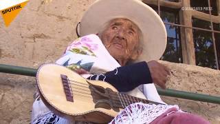 118 year old lady singer