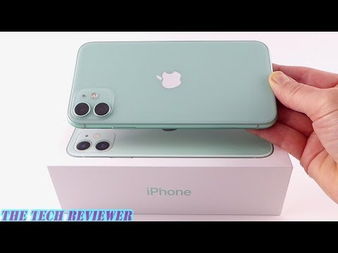 Unboxing The IPhone 11: Green…or Blue?