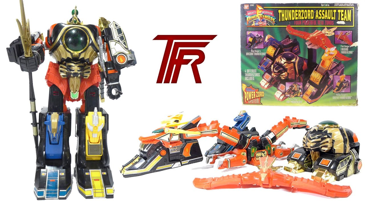 Action Figure Review: Legacy Megazord from Mighty Morphin ...