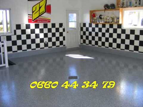 resine epoxy sol garage. Black Bedroom Furniture Sets. Home Design Ideas