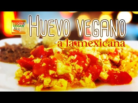 Huevo Vegano A La Mexicana Elaborado Con Tofu Cocina Vegan