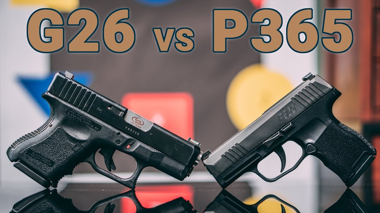 Gun Review: Sig Sauer P365 vs Glock 26 (VIDEO)