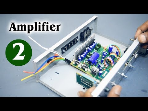 Amplifier Part #2 Homemade DIY Amplifier Assembling (Hindi electronics) ELECTROINDIA