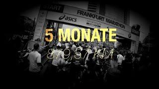 Frankfurt Marathon 2015 + 5 Monate Vorbereitung