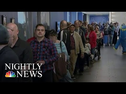 Midterms 2018: Voters Battle Long Lines And Malfunctioning Machines   NBC Nightly News