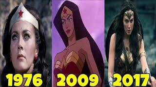 Эволюция Чудо Женщины В Мультфильмах и Кино (1967-2017)