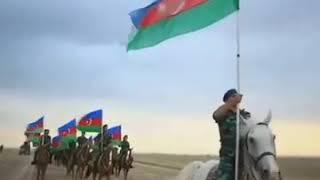 Azərbaycan 5.1 km bayraq hazladı dünyanın ən böyük bayrağı