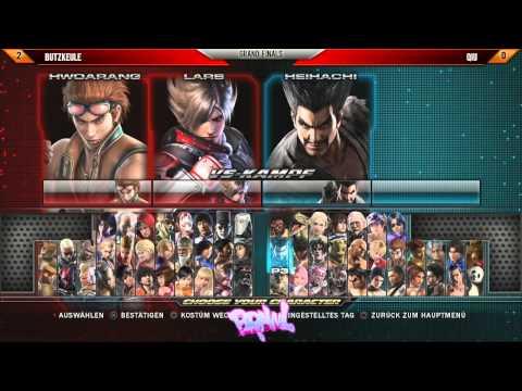 BO#10 - Qiu Vs. Butzkeule - Grand Finals - Tekken Tag Tournament 2