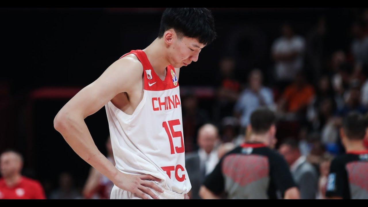 周琦全網直播:首次回應世界杯的發球失誤 Zhou Qi Responded to mistake made in World Cup game against Poland - YouTube