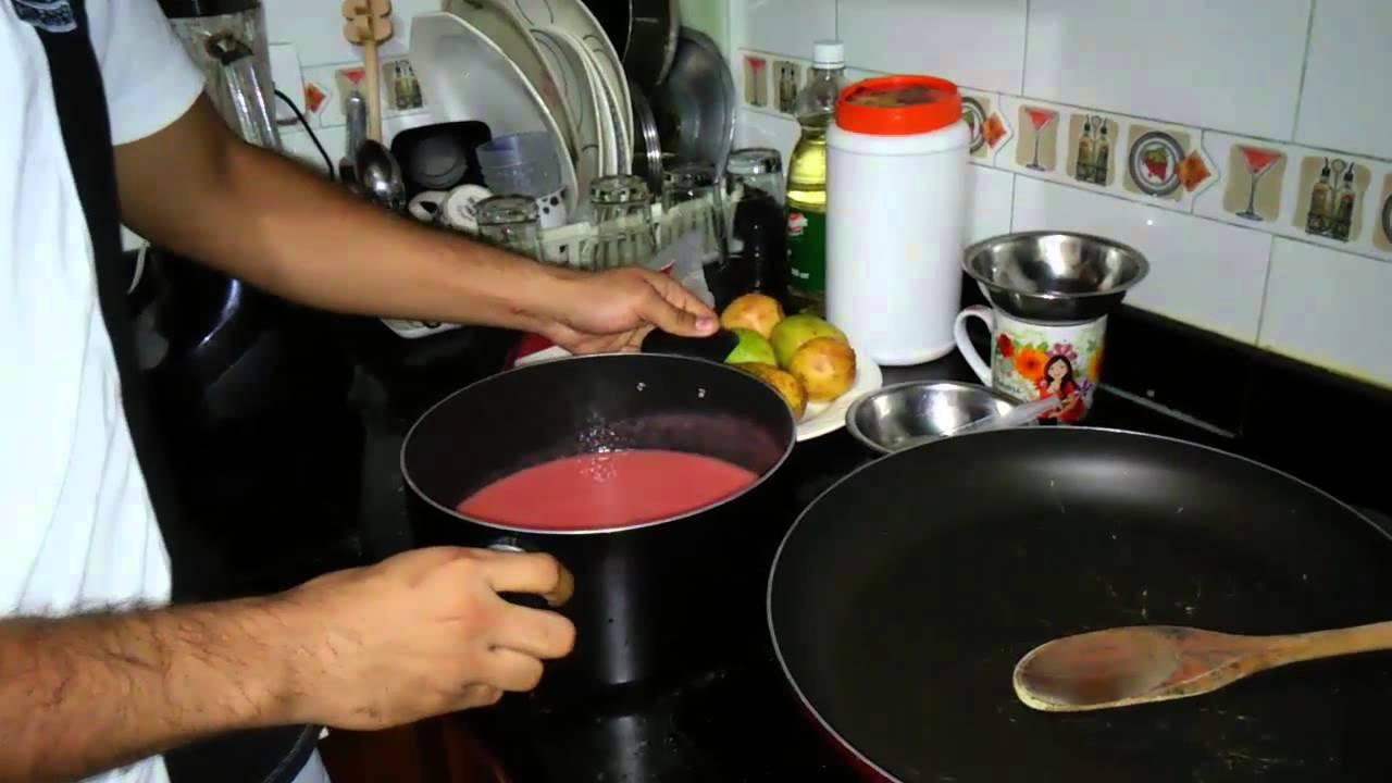 como hacer una compota de guayaba