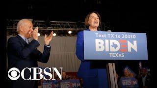 "Joe Biden Calls Amy Klobuchar ""first Rate,"" Asks Her To Undergo Vetting For Vp"